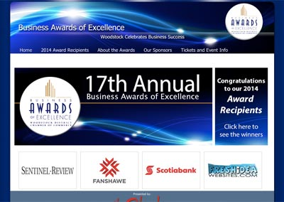 WoodstockBusinessAwards.com