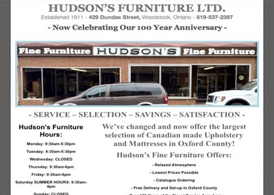 HudsonsFurnitureWoodstock.com
